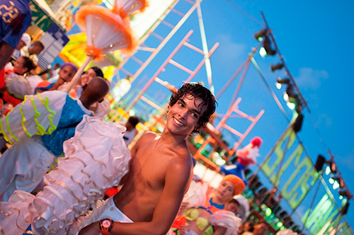 photo of carnivals in Havana with louis alarcon