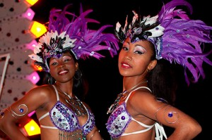 cuban girls in Havana Carnivals