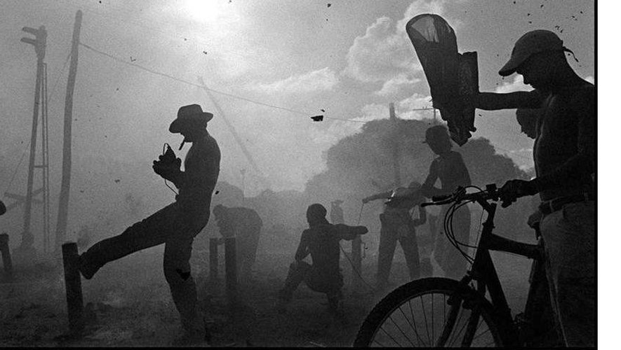 Parrandas by cuban photographer raul cañibano